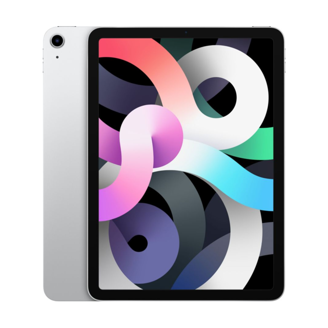 "Apple - iPad Air (Gen 4) - 10,9"""" - Wi-Fi - 256 Go - Argent - Tablette tactile"