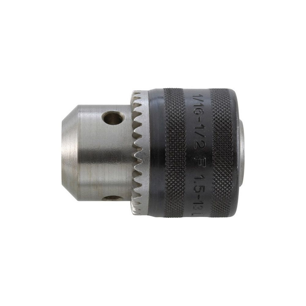 Forum Mandrin à couronne dentée à emmanchement fileté, Capacité de serrage : 0,8-10,0 mm, Fixation 1/2''x 20 mm, Ø extérieur 3