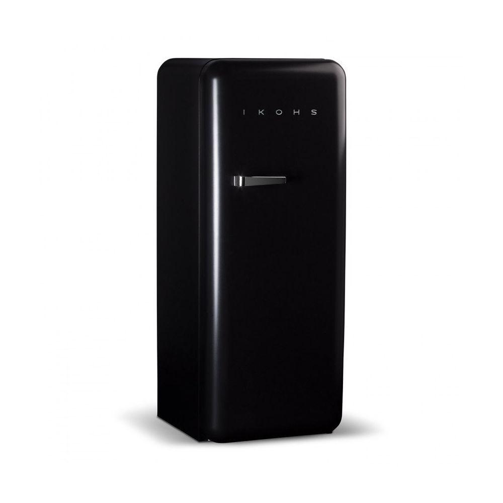 Ikohs RETRO FRIDGE 150 NOIR MATE - Réfrigérateur