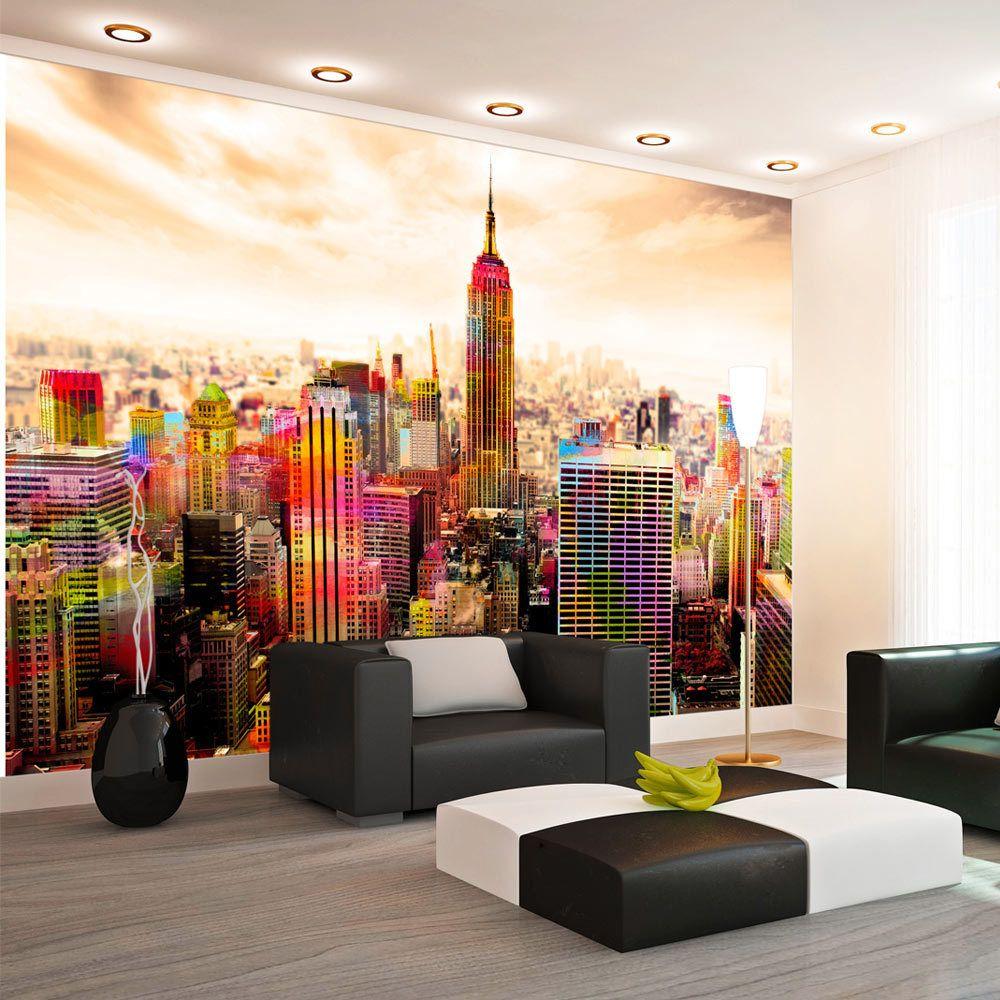 Bimago Papier peint - Colors of New York City III - Décoration, image, art | Ville et Architecture | New York |