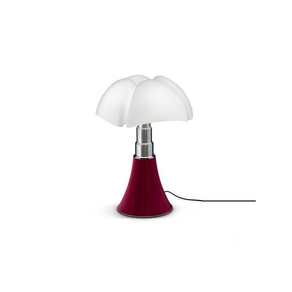 Martinelli Luce MINI PIPISTRELLO-Lampe Dimmer Touch LED H35cm Rouge Martinelli Luce - designé par Gae Aulenti