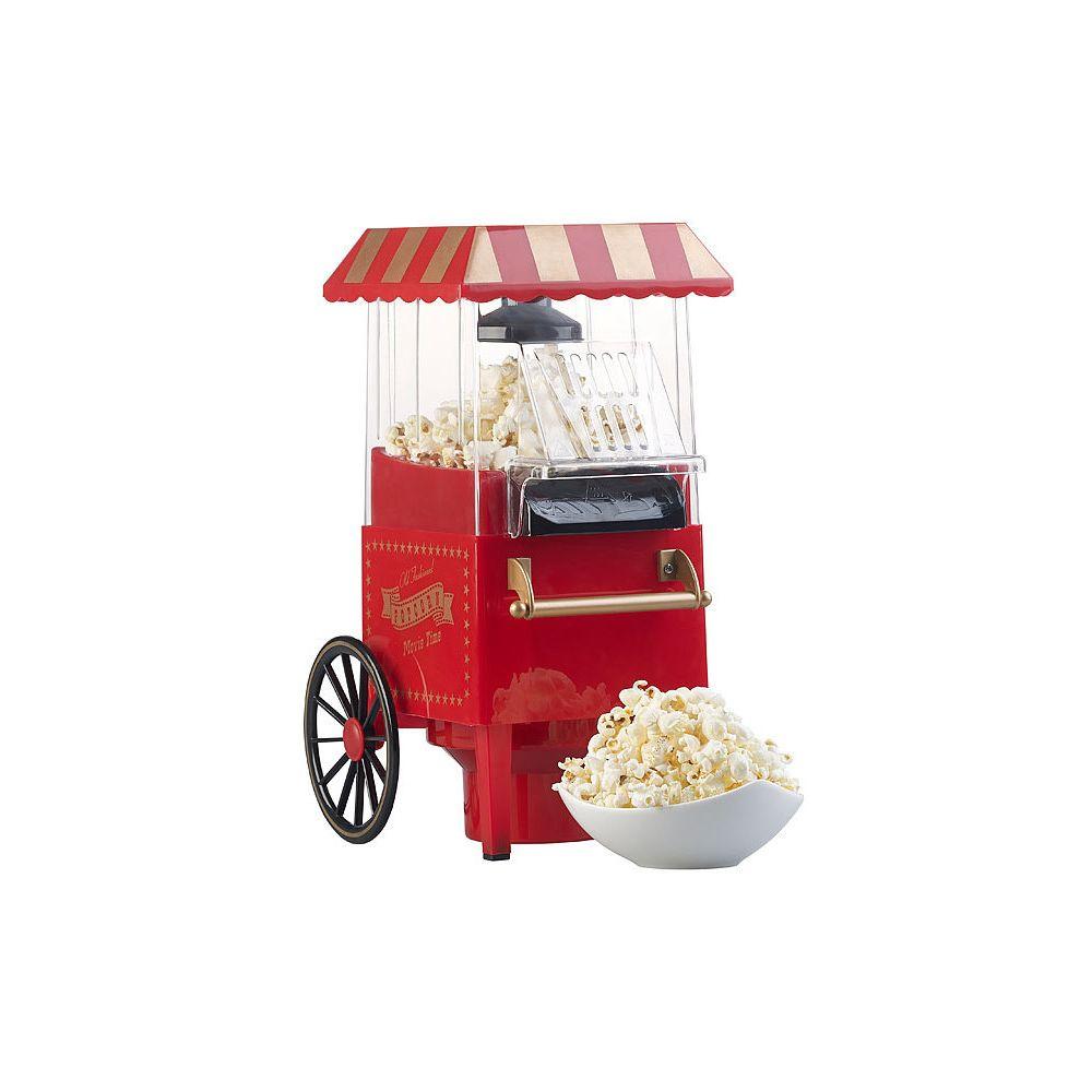 Rosenstein & Sohne Machine à pop-corn à air chaud 1200 W - Design kiosque miniature
