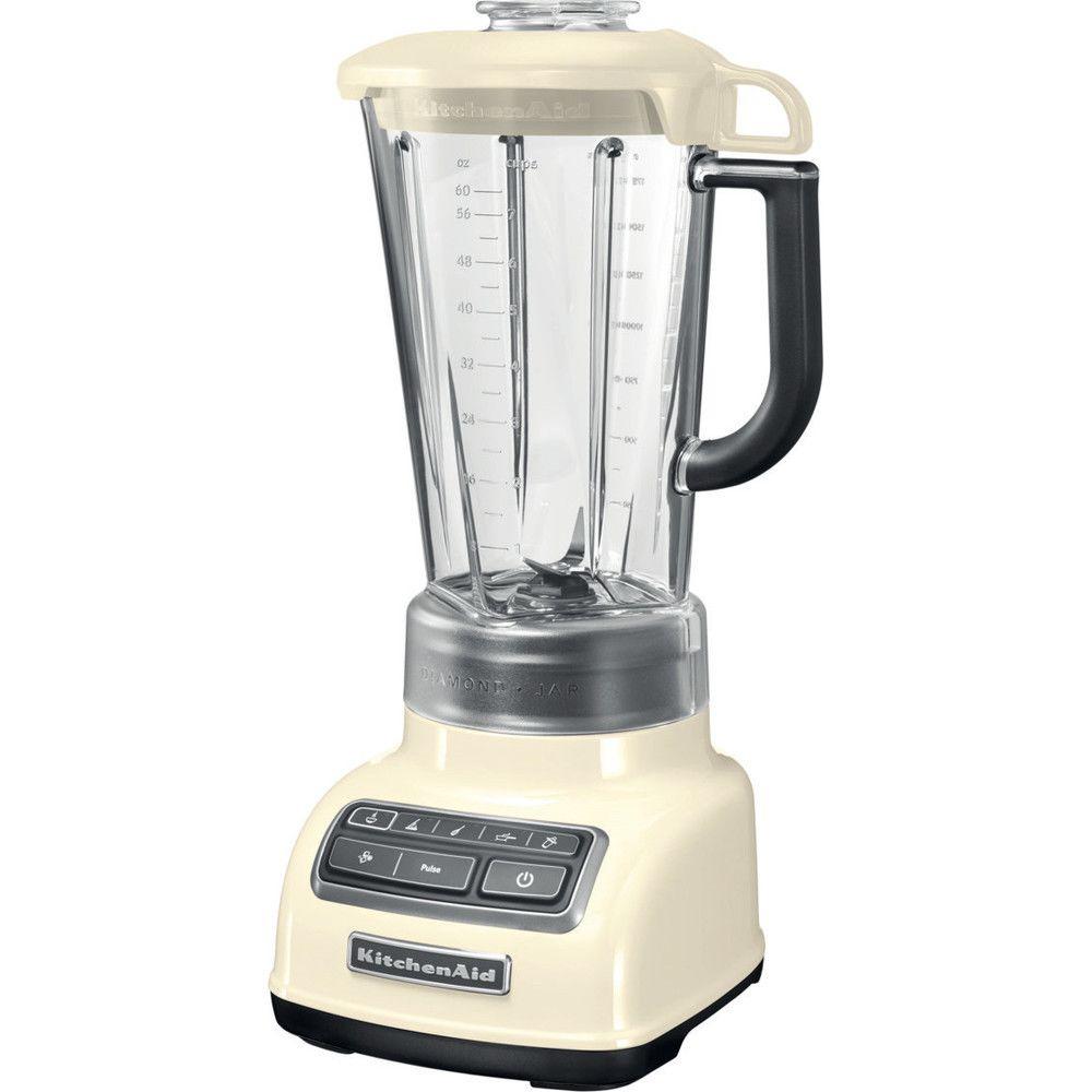 Kitchenaid blender mixeur électrique de 1,75L 550W crème gris