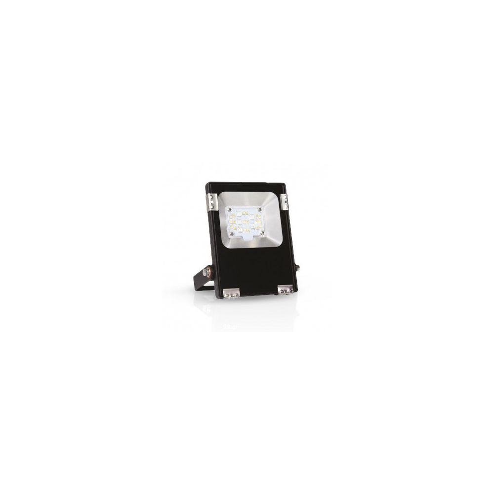 Vision-El Projecteur Extérieur LED Noir 230V 10W RGB+Blanc IP65