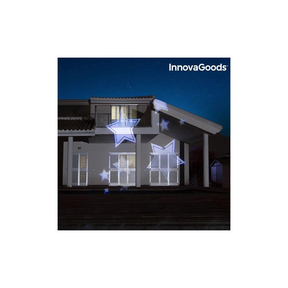 Totalcadeau Projecteur LED pour extérieur facade maison - Decoration maison projection lumineuse