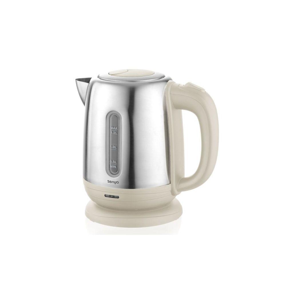 Senya Senya bouilloire électrique Inox Little Tea 1,2L crème
