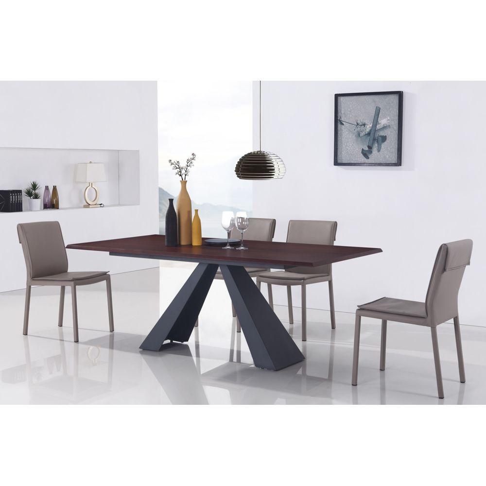 Oneboutic Table à manger design en bois - Amalfi