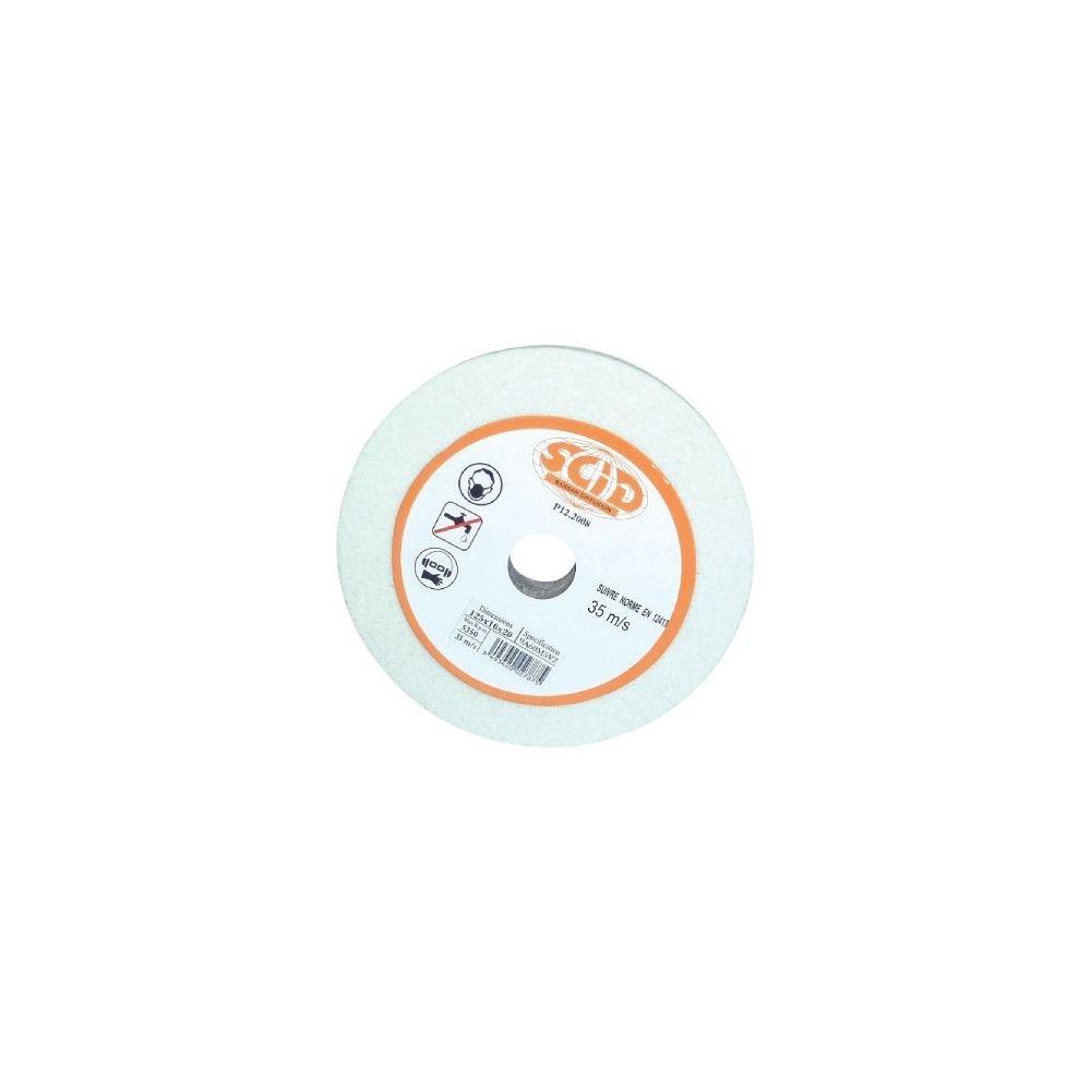Selection Brico-Travo Meules affûtage acier au corrindon blanc vg affûtage à sec 60 125 x 16 x 20