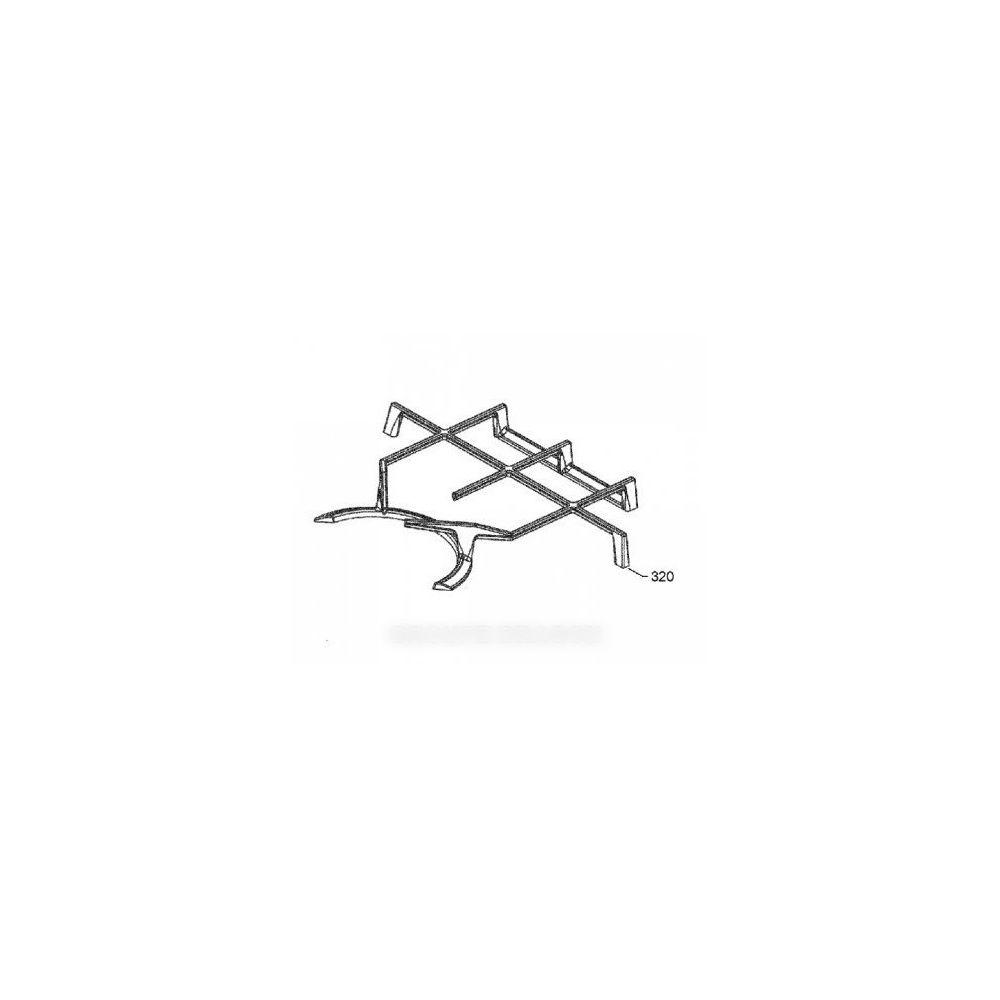 Arthur Martin Grille fonte droit ou gauche pour table de cuisson arthur martin electrolux faure