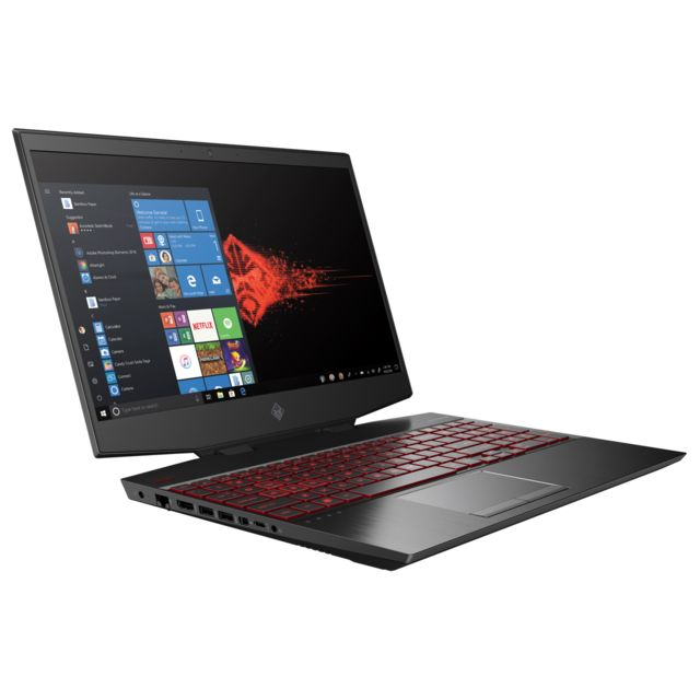 Hp - Omen 15-DH0059NF - Noir - PC Portable Gamer 144 hz