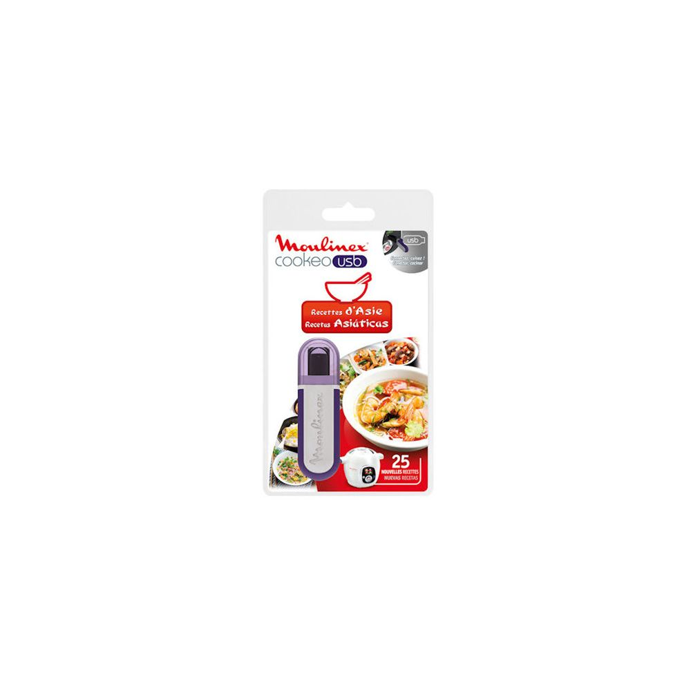 Moulinex Cookeo Usb Recettes Asie reference : XA600311