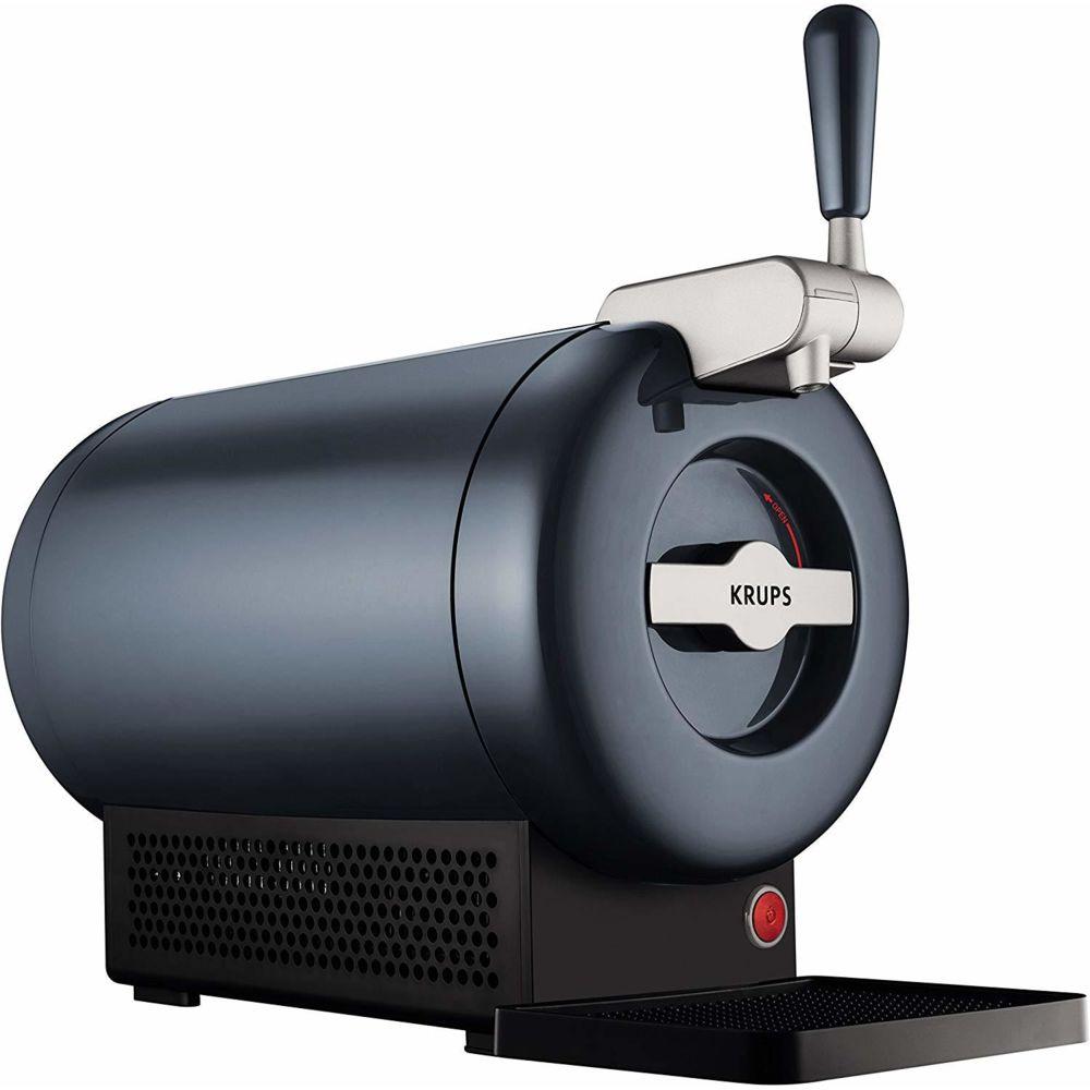 Krups machine distributeur de bière tireuse The Sub Grey Edition de 2L 58W noir