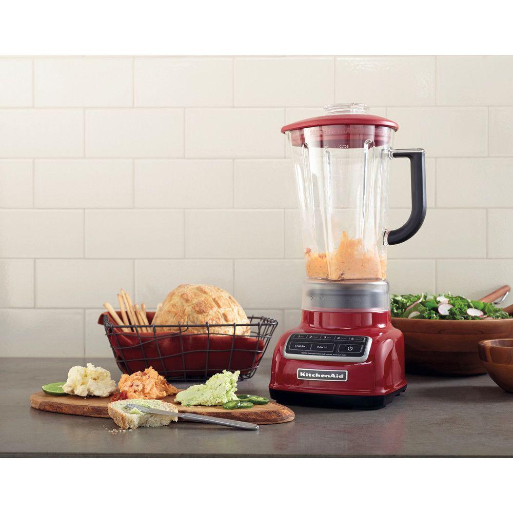 Kitchenaid blender mixeur électrique de 1,75L 550W pomme d'amour gris