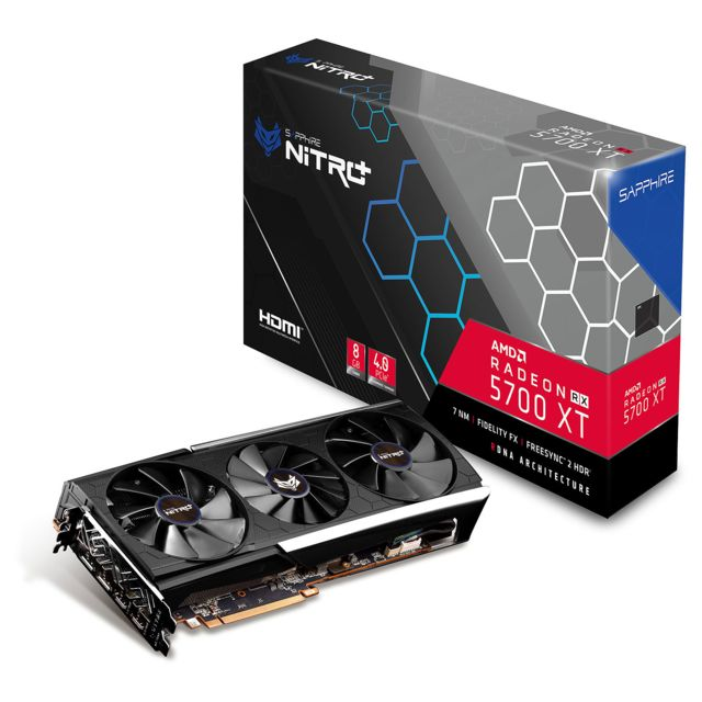 Sapphire - NITRO+ Radeon RX 5700 XT BE - Triple Fan - 8Go - Carte Graphique AMD