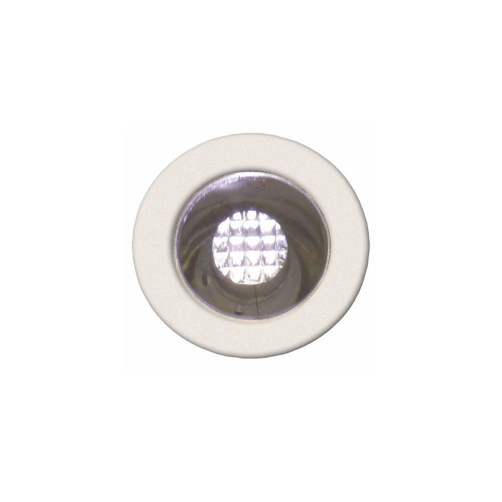 Brilliant Kit de 10 spots encastres IP44 COSA 15 10x0 07W LED intégrée ACIER INOX BLANC CHAUD - BRILLIANT - G03090_75