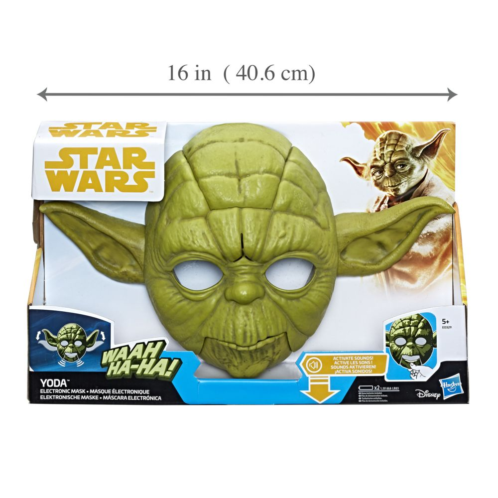 Hasbro European Trading B.V. STAR WARS YODA - MASQUE ELECTRONIQUE - E0329EU40
