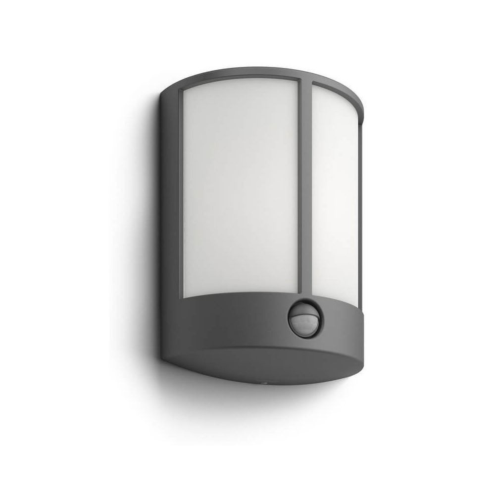 Philips LED véranda Stock IR H25 cm IP44 - Anthracite