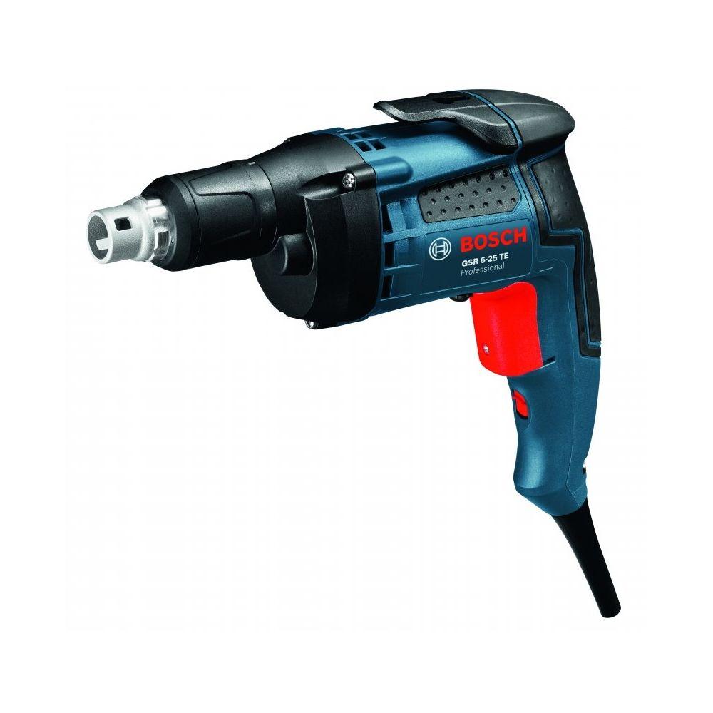 Bosch Visseuse plaquiste électrique 701W 2500 tr/min livrée en coffret GSR 6-25 TE BOSCH 0601445000