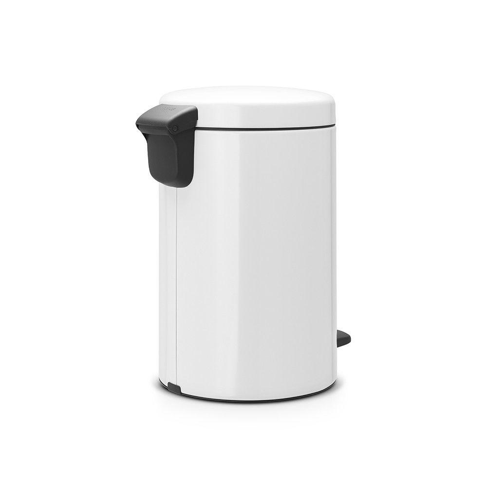 BRABANTIA brabantia - poubelle à pédale 12l blanc - 111969