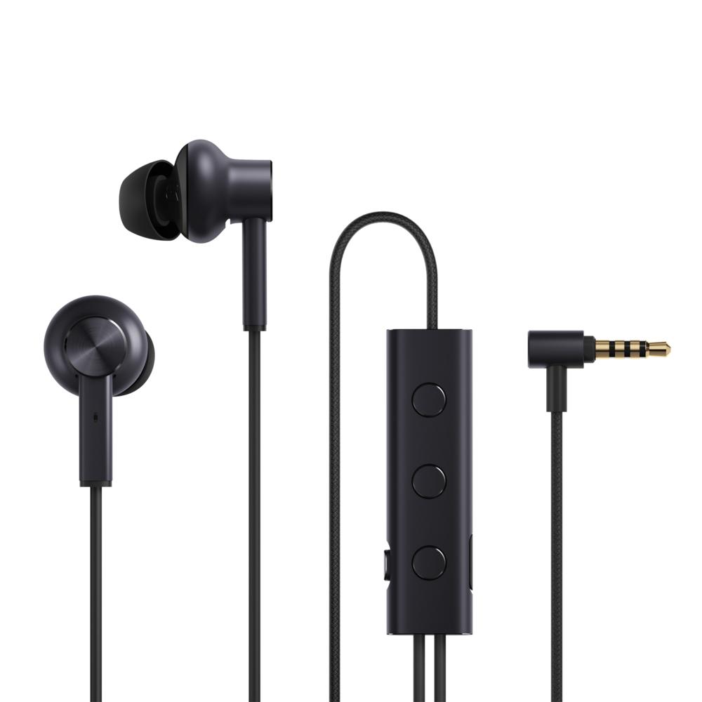 XIAOMI Ecouteurs Intra-Auriculaire réducteurs de bruit Type Jack - Noir