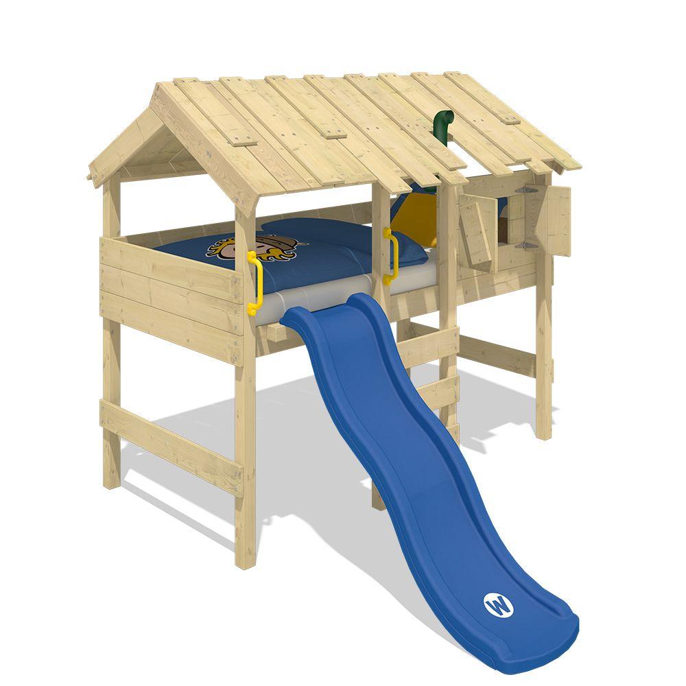 Wickey WICKEY Lit mezzanine en bois CrAzY Lagoon pour enfant