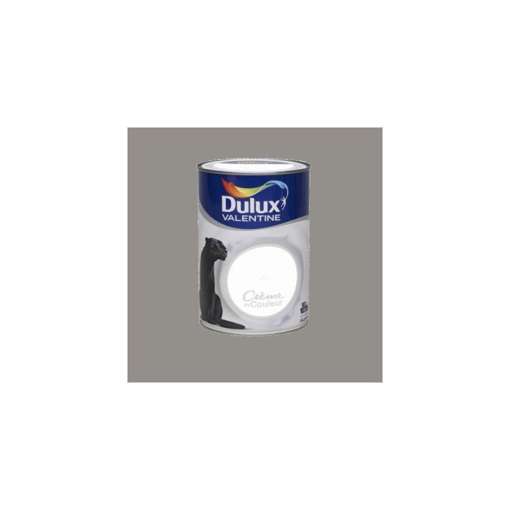 Dulux Valentine DULUX VALENTINE Peinture acrylique Crème de couleur Gris building