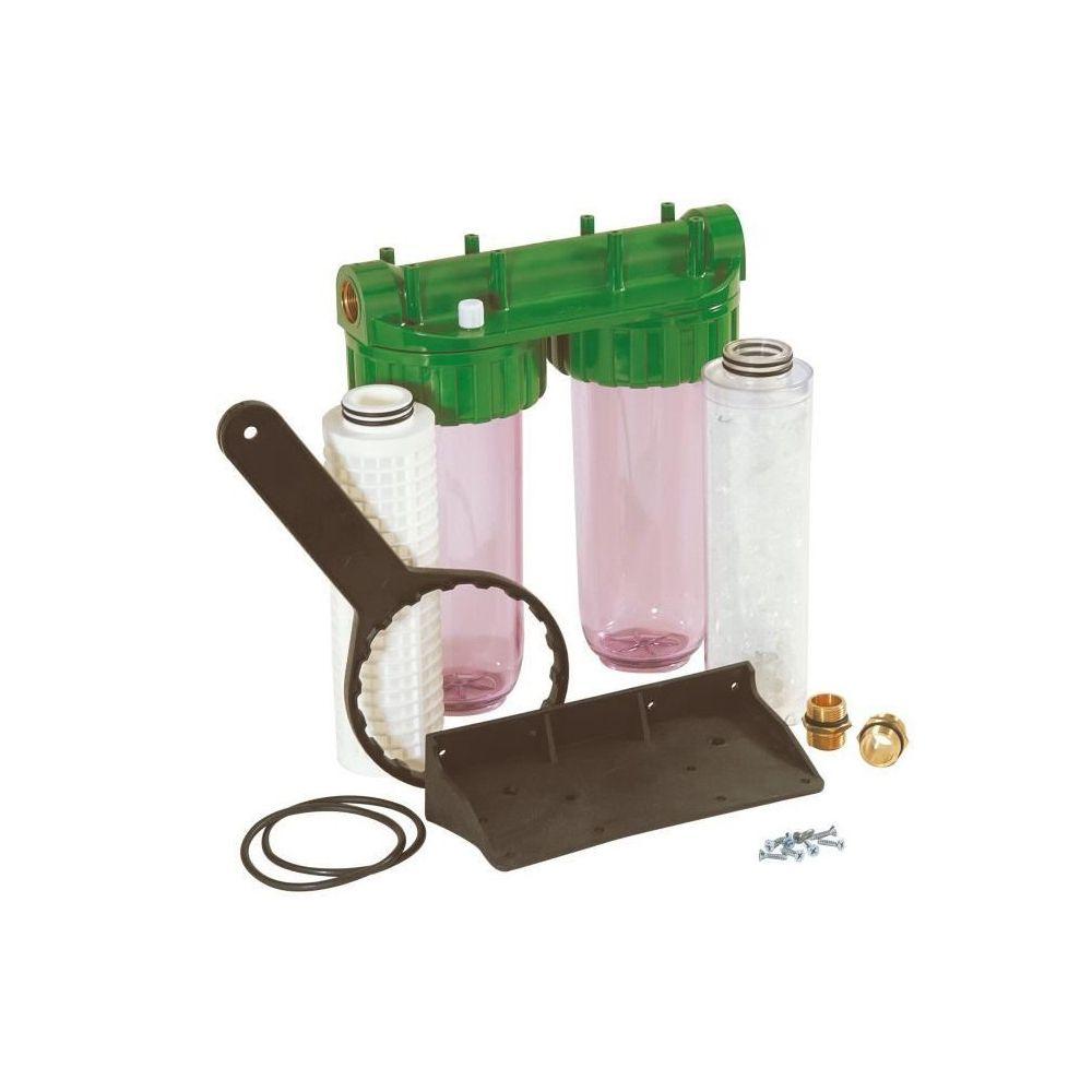 Dipra DIPRA Station de filtration Vital anticalc Duplex anti impuretés anti calcaire
