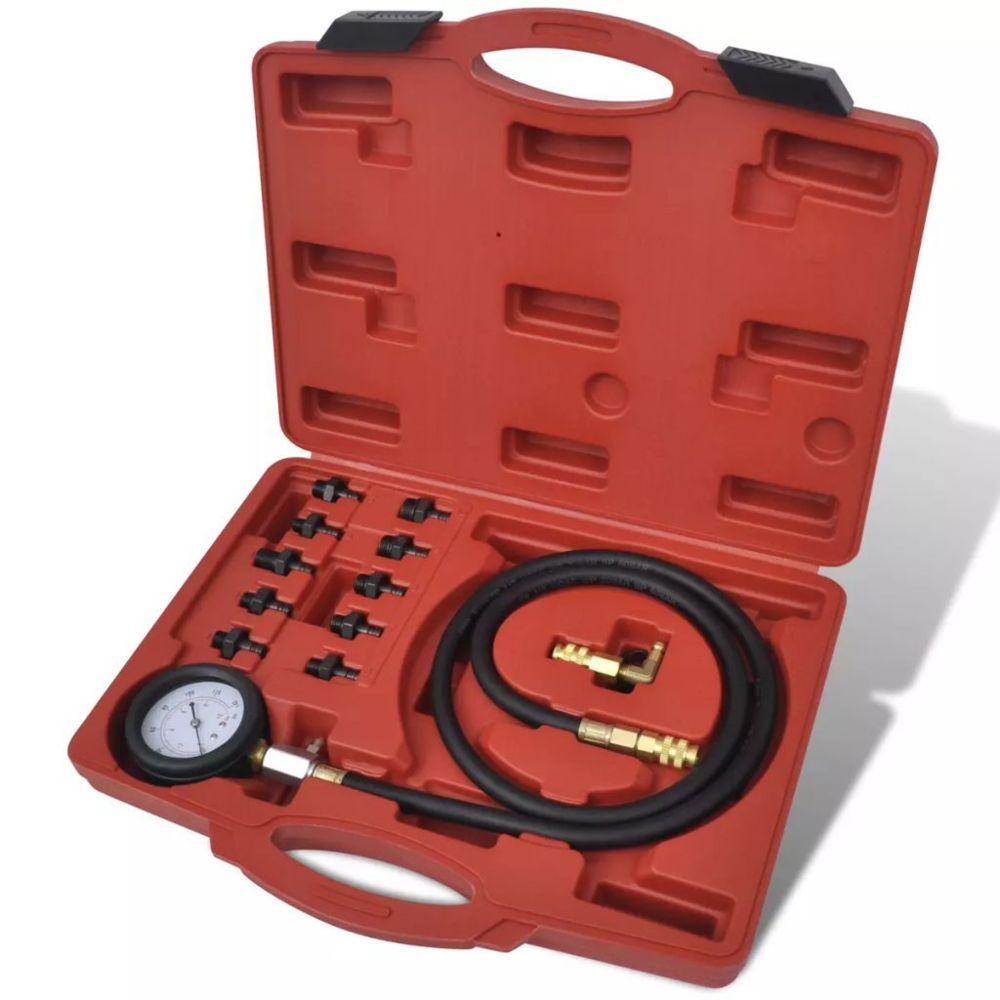 Vidaxl Kit outil testeur moteur et pression d'huile |