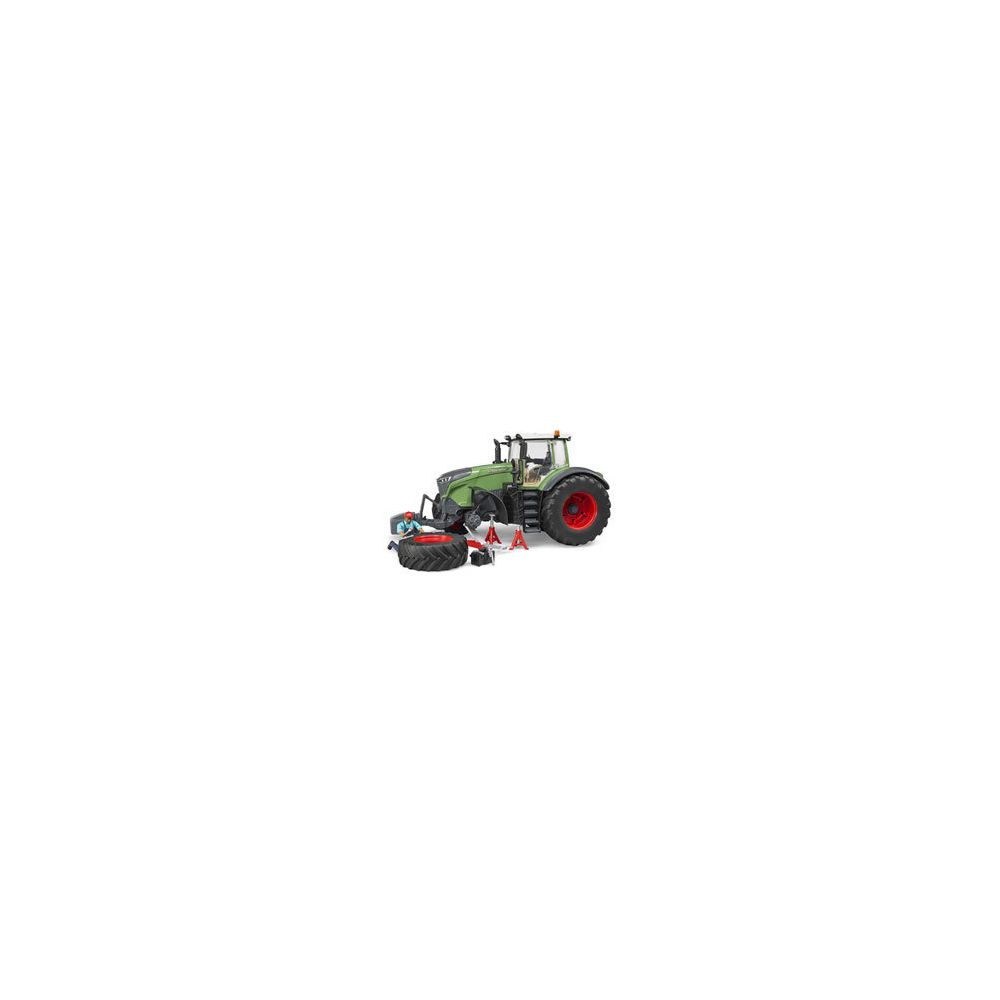 Bruder Tracteur Fendt 1050 Vario avec mecanicien et accessoires de depannage