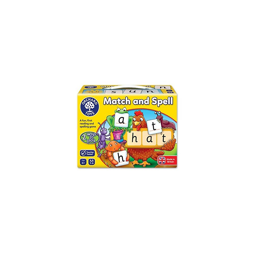 Orchard Toys Orchard Toys Match & Spell Puzzles