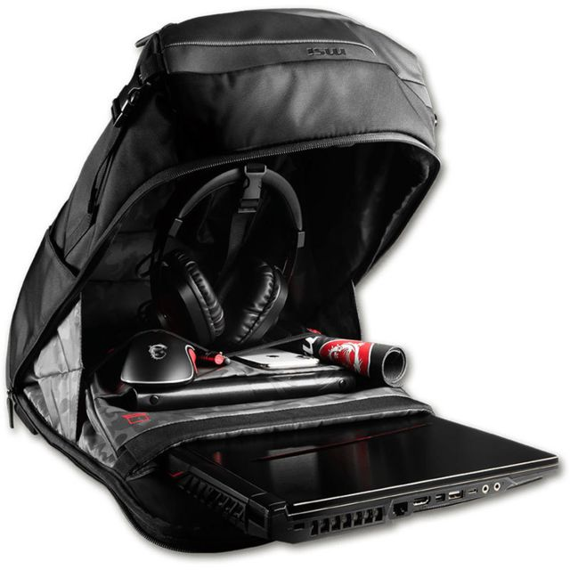 Sacoche, Housse et Sac à dos pour ordinateur portable MSI Urban Raider Gaming Backpack
