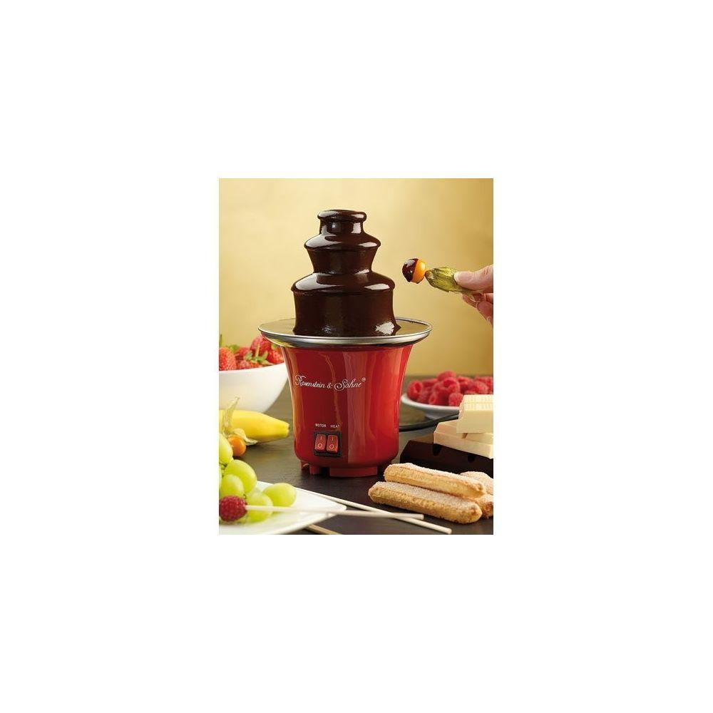 Rosenstein & Sohne Mini fontaine à chocolat