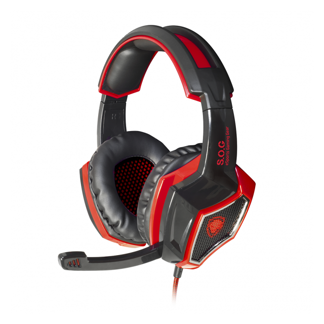 Spirit Of Gamer - Casque Gaming  XPERT-H100 - Micro-Casque Circum auriculaire