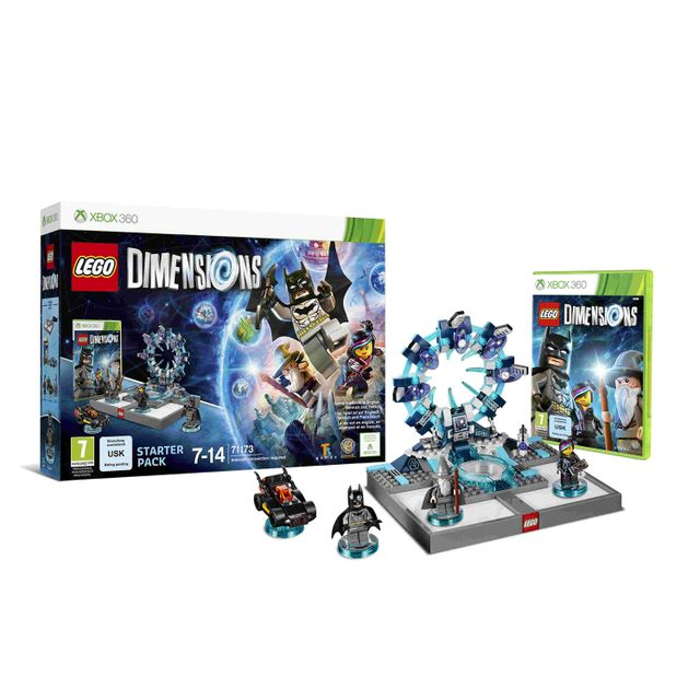 Warner - LEGO DIM. START PACK X360 VF - Jeux XBOX 360