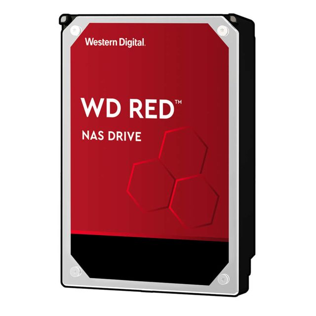Disque Dur interne Western Digital WD RED 6 To - 3.5'' - Rouge