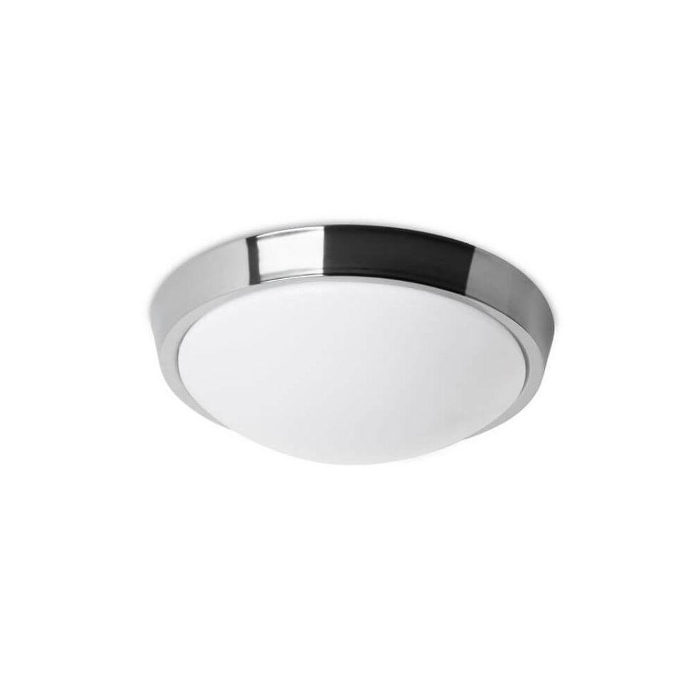 Leds C4 Plafonnier rond salle de bain Bubble LED IP44 D30 cm - Chrome