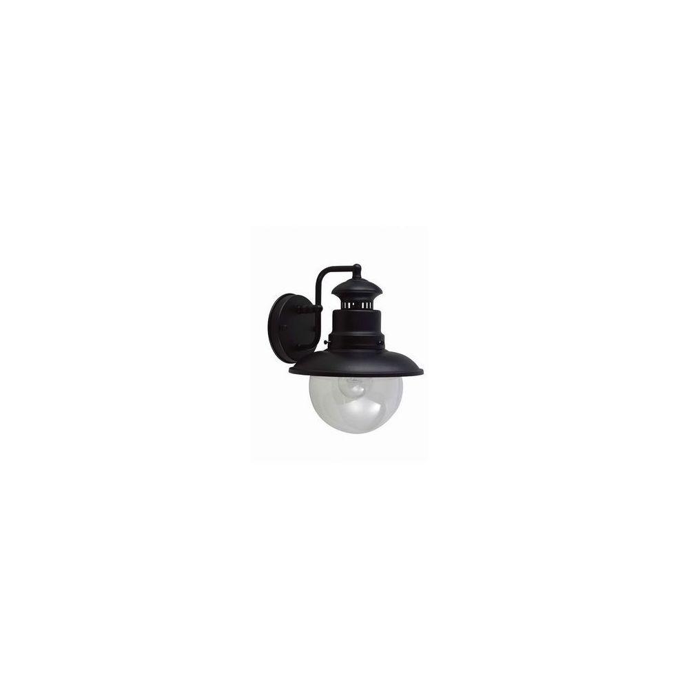 Garden Lights Applique Shipston 1x60W Noir