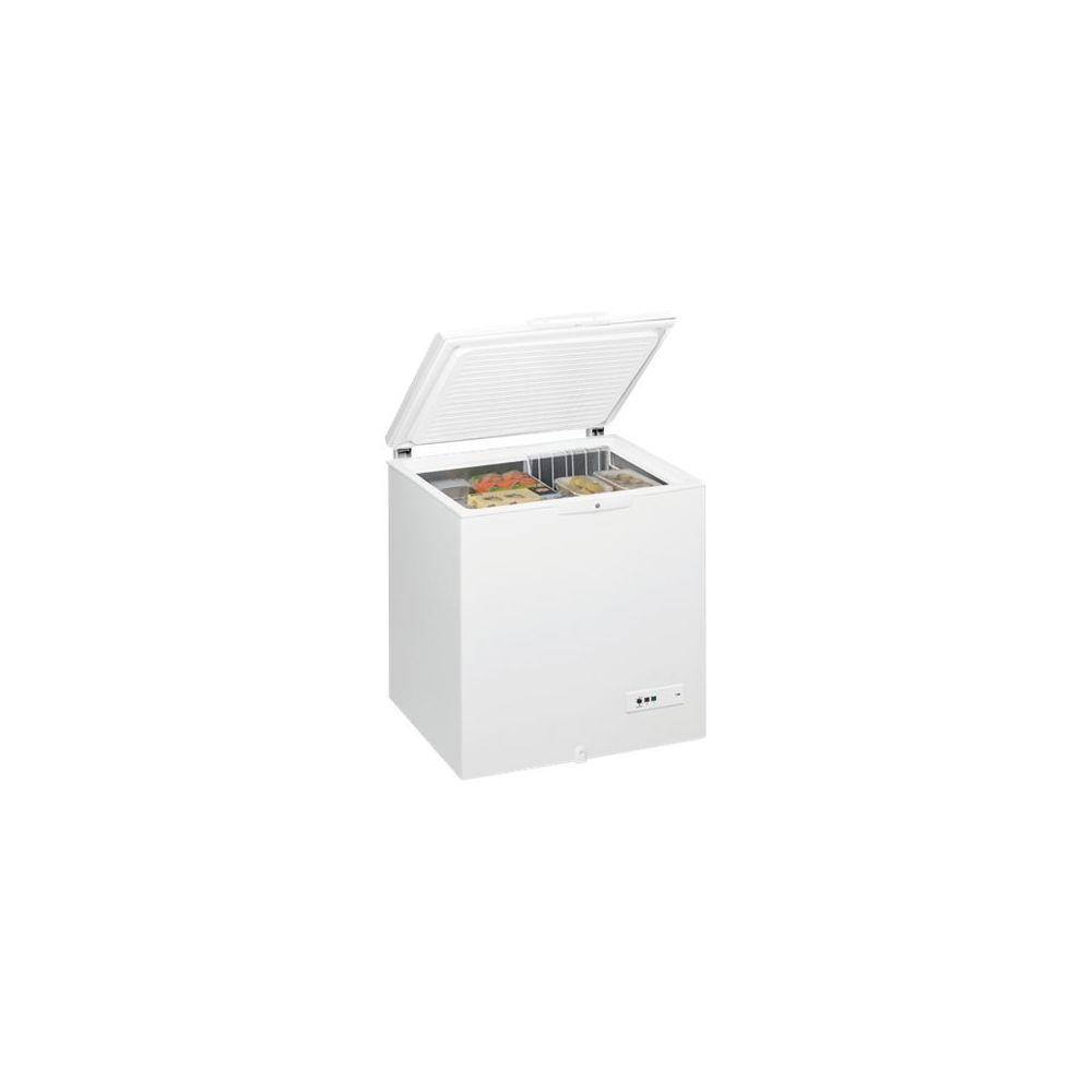whirlpool whirlpool - congélateur coffre 81cm 204l a+ blanc - whm2110