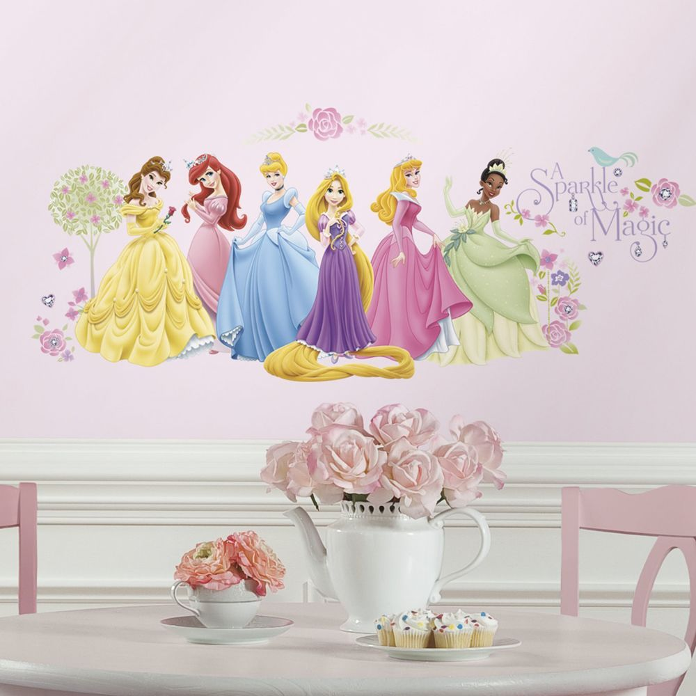 Roommates Stickers Diadème Disney Princesse
