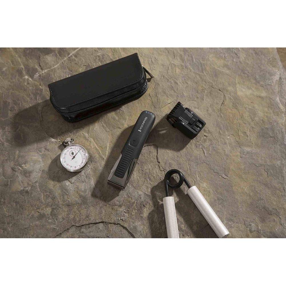 Remington Tondeuse électrique 2 en 1 étanche sans fil gris noir