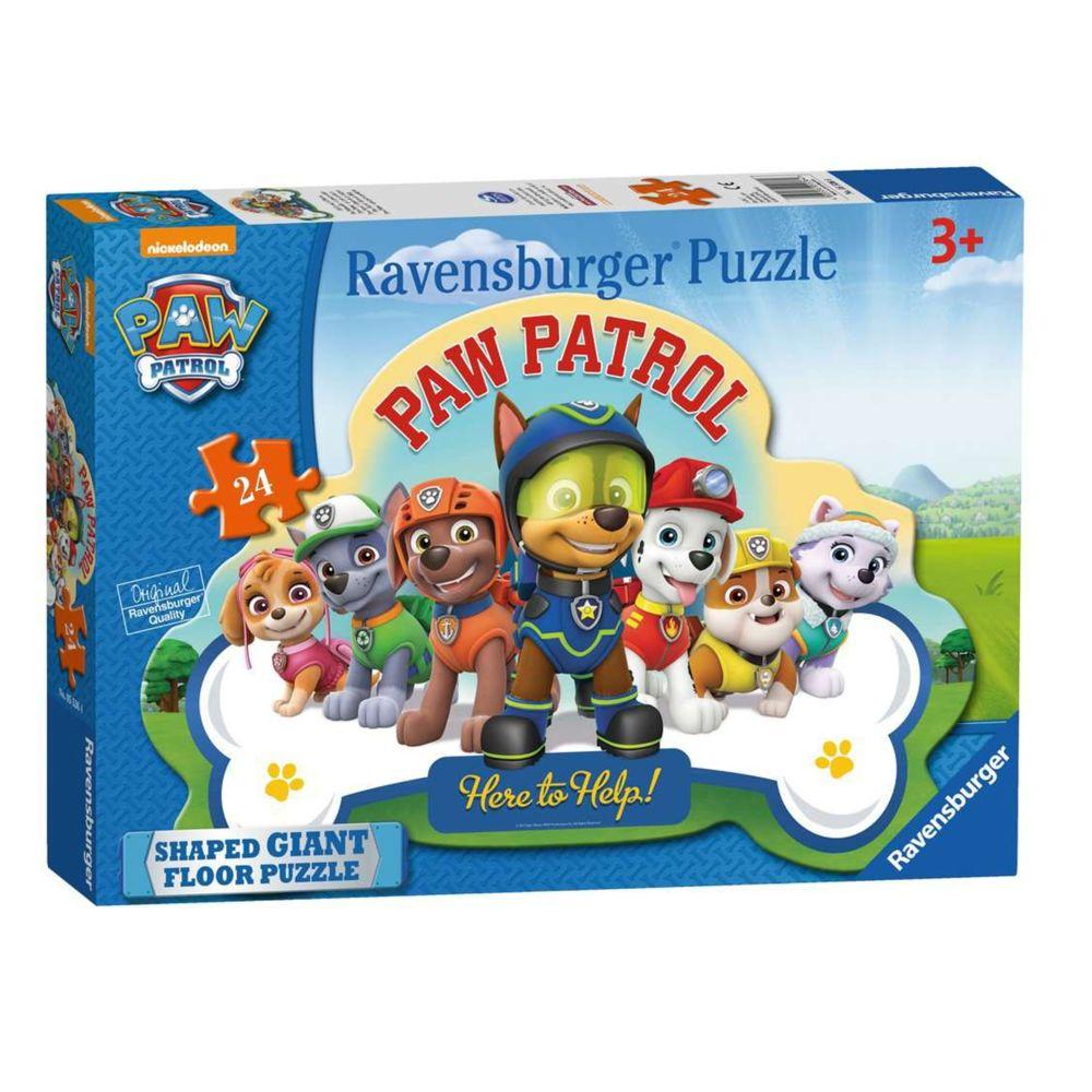 Ravensburger Puzzle géant de sol Pat'Patrouille 24 pièces partir de 3 ans Ravensburger