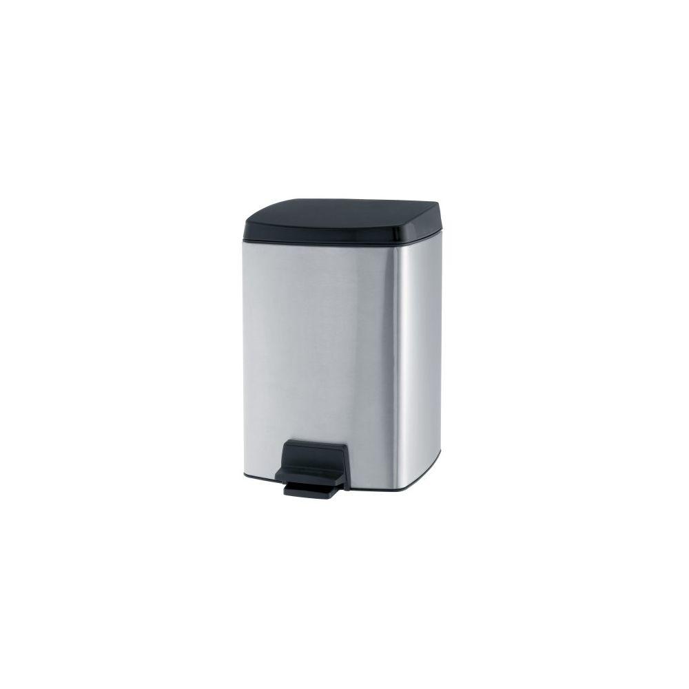 BRABANTIA Poubelle pedal bin silent rectangulaire 10 litres