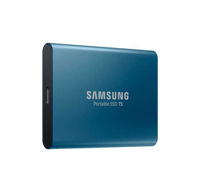"Samsung - T5 - 500 Go - 2.5"""" USB 3.1 Type A et Type C - 540 Mo/s - SSD Externe 2,5'' sata iii"