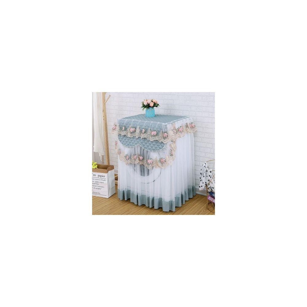 Wewoo Couverture automatique de protection solaire de poussière de machine à laver de dentelle de tissu pour entièrement Rose