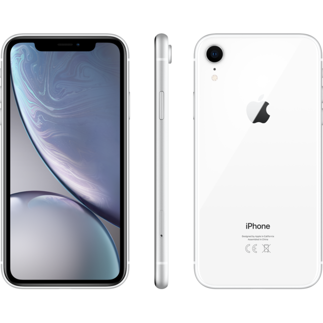 Apple -iPhone XR - 64 Go - MRY52ZD/A - Blanc Apple  - iPhone 4g+