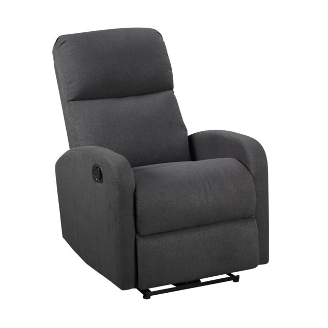 Happy Garden - Fauteuil inclinable MAX gris anthracite - Fauteuil de relaxation