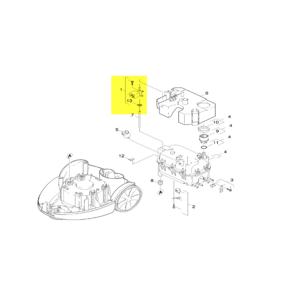 Karcher ELECTROVANNE COMPLET POUR PETIT ELECTROMENAGER KARCHER - 47430150