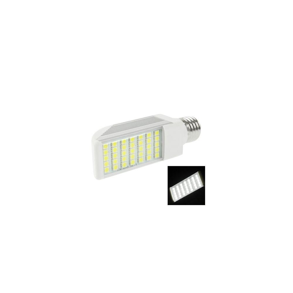 Wewoo Ampoule LED Horizontale blanc E27 8W 35 5050 SMD transversale, AC 85V-265V
