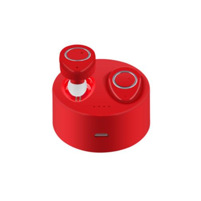 marque generique - YP Select True Wireless Bluetooth Headphones Invisible Earphone Stereo Music Headsets Multi-Point Connection 450Mah Charging Box-Rouge - Ecouteurs True Wireless