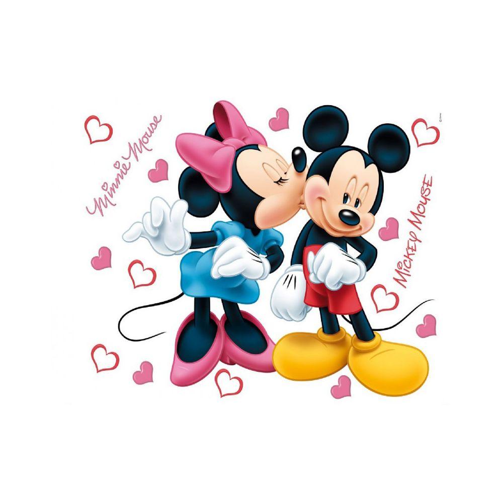 Bebe Gavroche Stickers géant Mickey et Minnie Disney